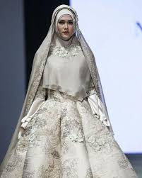 wedding dress syari 10 inspirasi pilihan gaun pernikahan muslim syar i yang modern