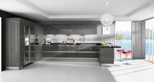 lusso cucina italian kitchen oneskin collection lava grey finish