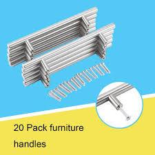 kitchen cabinet door handles walmart 20pcs t bar kitchen cabinet door handle cupboard drawer furniture handles pull