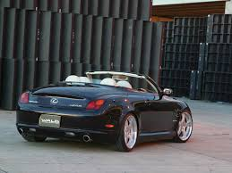 lexus convertible sc430 mad 4 wheels 2005 lexus sc430 by wald best quality free high
