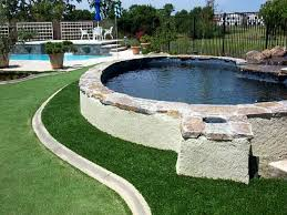 Synthetic Grass Backyard Installing Artificial Grass Indianapolis Indiana City Landscape