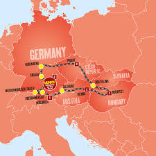 Blank Map Of Eastern Europe by Eastern Europe Coach Tour Tours From Munich Expat Explore