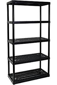 Heavy Duty Garage Shelving by Vonhaus 5 Tier Garage Shelving Unit With Wall Brackets Heavy