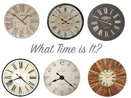 oversized vintage wall clock shabby chic wall clocks with