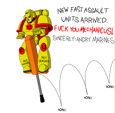 Angry Marines Meme - angry marines new equipment by empyronaut on deviantart