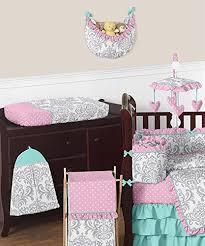 Boutique Crib Bedding Sweet Jojo Designs Bedding Sets Boutique Skylar Turquoise Blue