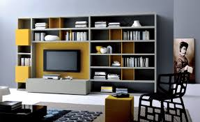 White Modern Bookshelves by Family Room Cool Bookcases Ideas Bookshelves Tikspor