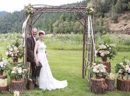 riverside weddings chris s whimsical riverside wedding galice or an