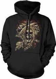designer pullover designer leather skull patch pullover hoodie 80 mens fashion
