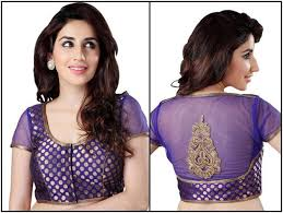 pattern of net blouse best top latest blouse design with net back and net sleeves न ट
