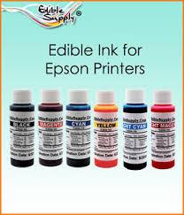 9 oz 6 color edible ink refill kits for epson printer ebay