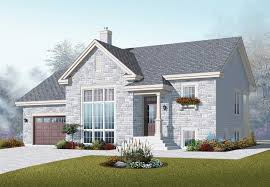 bi level house plans with attached garage house plan split level house designs the plan collection split