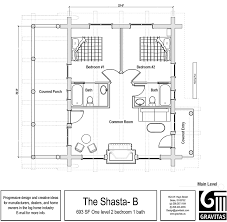 2 bedroom log cabin plans 2 bedroom vacation home plans home act