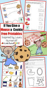 if you give a mouse a cookie paper plate craft and free printables