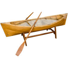 canoe coffee table for sale coffee table canoe boat coffee tablesboat table plans row
