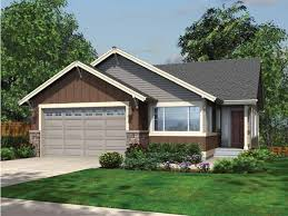 eplans ranch house plan cozy ranch style plan for narrow lot