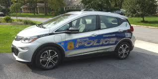 police car is this the country u0027s first chevrolet bolt ev police car