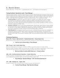 Resume For Business Owner Green David Resume