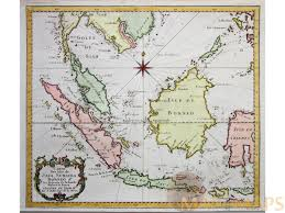 Map Java Carte Des Isles De Java Sumatra Borneo Bellin Map 1758