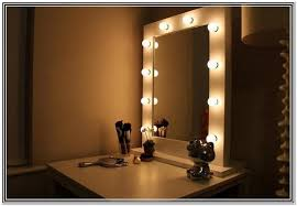 Diy Makeup Vanity Chair Light Bulb Vanity Mirror With Light Bulbs Around It Large For
