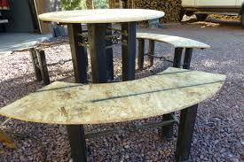 Concrete Table And Benches Concrete Benches Kritterspaw