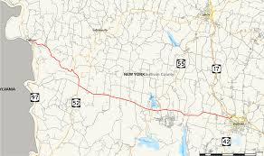 Hancock Ny Map New York State Route 17b Wikipedia