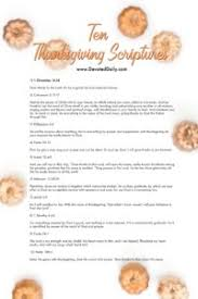 thanksgiving scriptures devoted daily