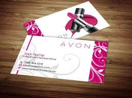 Vistaprint 10 Business Cards Avon Business Card Design 11