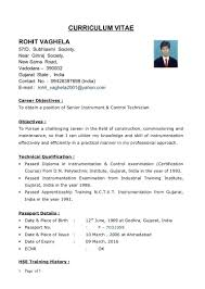 basic resume format for engineering students resume mechanical engineering format word cv for fresher design