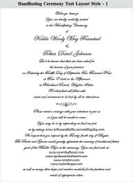 wording for wedding ceremony ideas wedding ceremony invitation wording or elements to include
