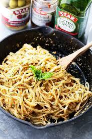 easy pasta recipes olive pesto pasta recipe star extra virgin olive oil giveaway