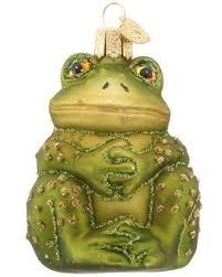 frog ornament big sky carvers frogs ornament