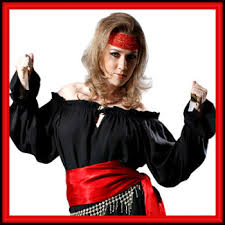 women u0027s pirate blouses shirts and tops deluxe theatrical
