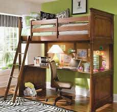 loft bed with stairs desk underneath for bunk beds pink mattress