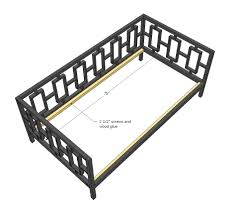 Ana White Free And Easy Diy Furniture Plans To Save You Money by Ana White Rectangles Day Bed Diy Projects