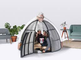 kfc is selling a 10 000 escape pod to save you from