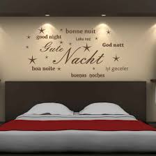 wandtatoo schlafzimmer wandtattoo gute nacht wandtattoos by wandtattoo kiwi