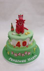 welsh themed dragon cake cakecentral com