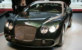 2009 Bentley Zagato Gtz Auto Shows News Car And Driver