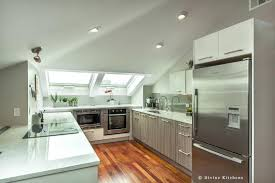 Standard Kitchen Cabinet Height Kitchen Cabinets Heights Before And After Redesigned Kitchen