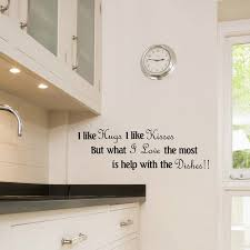Kitchen Wall Design Ideas Wall Stickers For Kitchen Design Kitchen Design Ideas