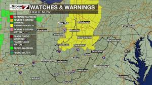 Severe Weather Map Continuous Severe Weather Updates Wboy Clarksburg Morgantown
