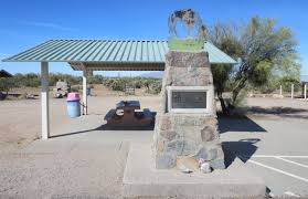 tom mix monument along sr 79 marks end of the trail for a screen