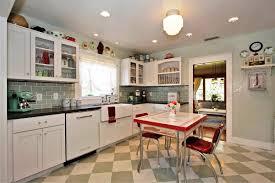 white tile backsplash kitchen kitchen backsplashes fantastic retro kitchen table and chairs