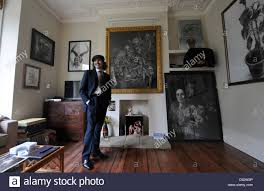 artist danny lyon amongst his work on show for this years open