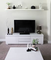 minimalist tv stand and cabinet ikea besta interiors design