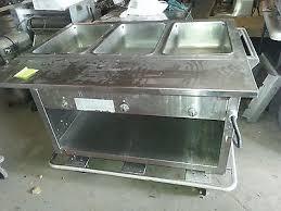 duke gas steam table used steam table dawson equipment brokers