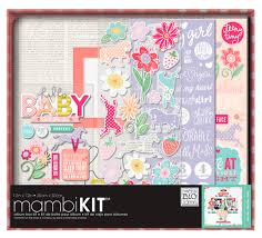 12x12 scrapbook albums mambi album kit box 12x12 baby girl createforless