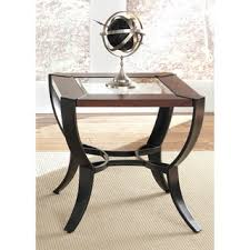 top product reviews for rich cherry round end table 9438935