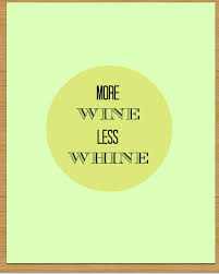 more wine less whine 8x10 art print prtinable custom via etsy